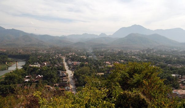 Холм Пу Си, Лаос