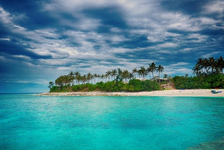 Красивое море во Вьетнаме
