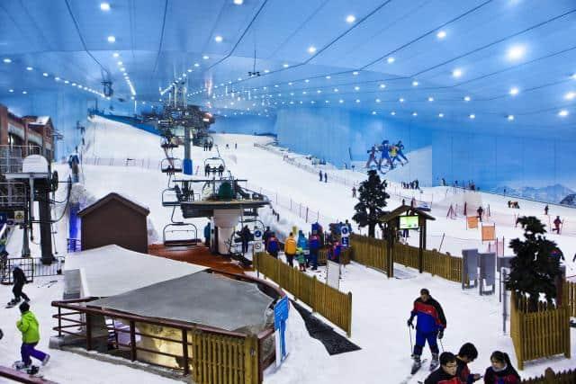 Лыжный комплекс Ski Dubai
