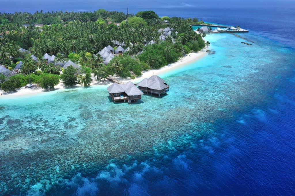 Остров Бандос, Мальдивы