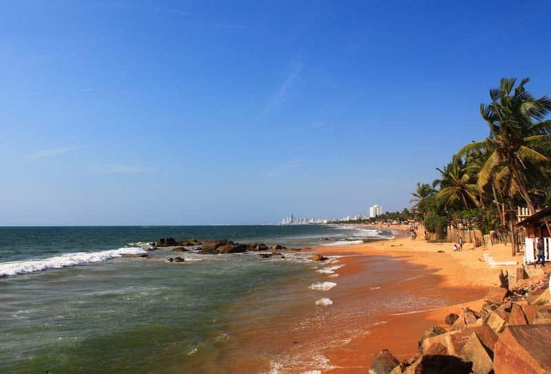 Пляж Маунт-Лавиния, Шри-Ланка