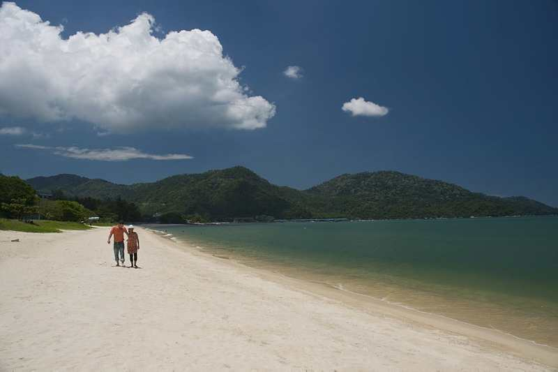 Пляж на Пенанге, Малайзия