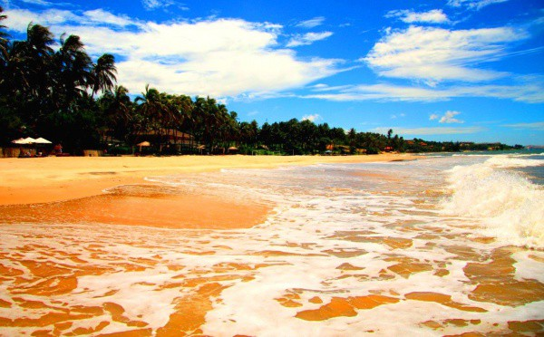 Побережье моря во Вьетнаме