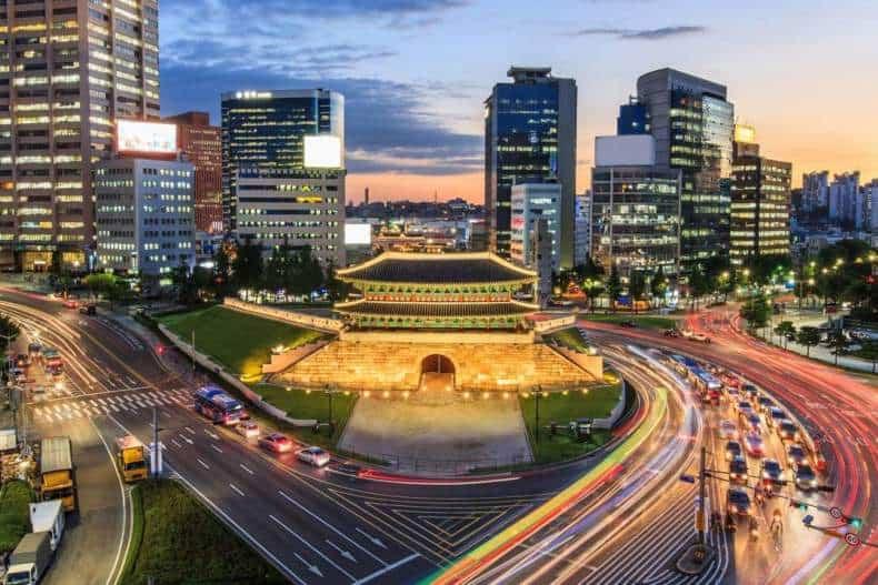 Сеул, Корея
