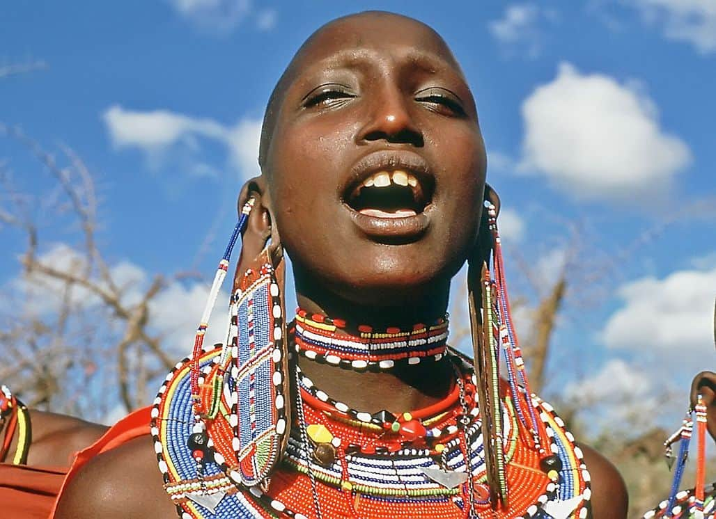 Женщина из африканского племени