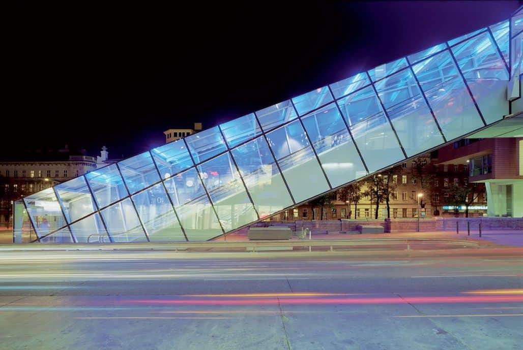 Застекленный мост в Вене