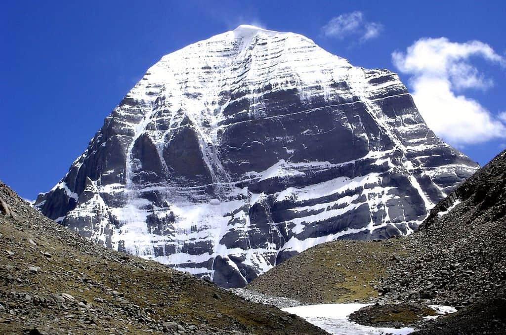 Вершина горы Кайлас