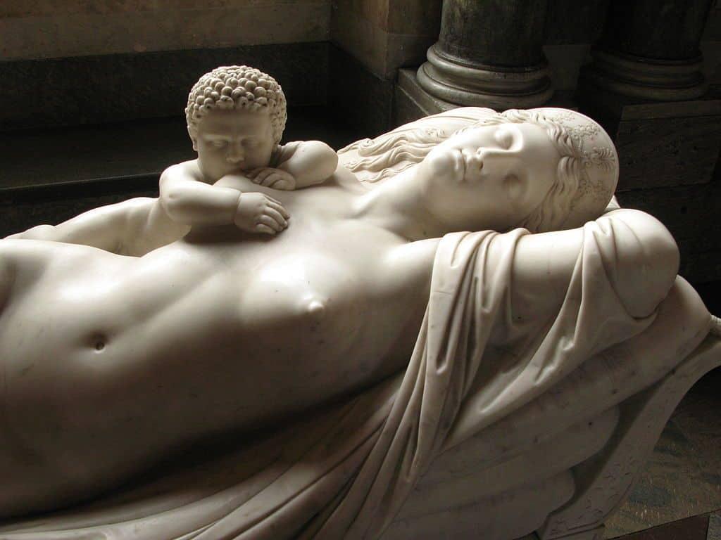 Скульптура Геракл и Гера
