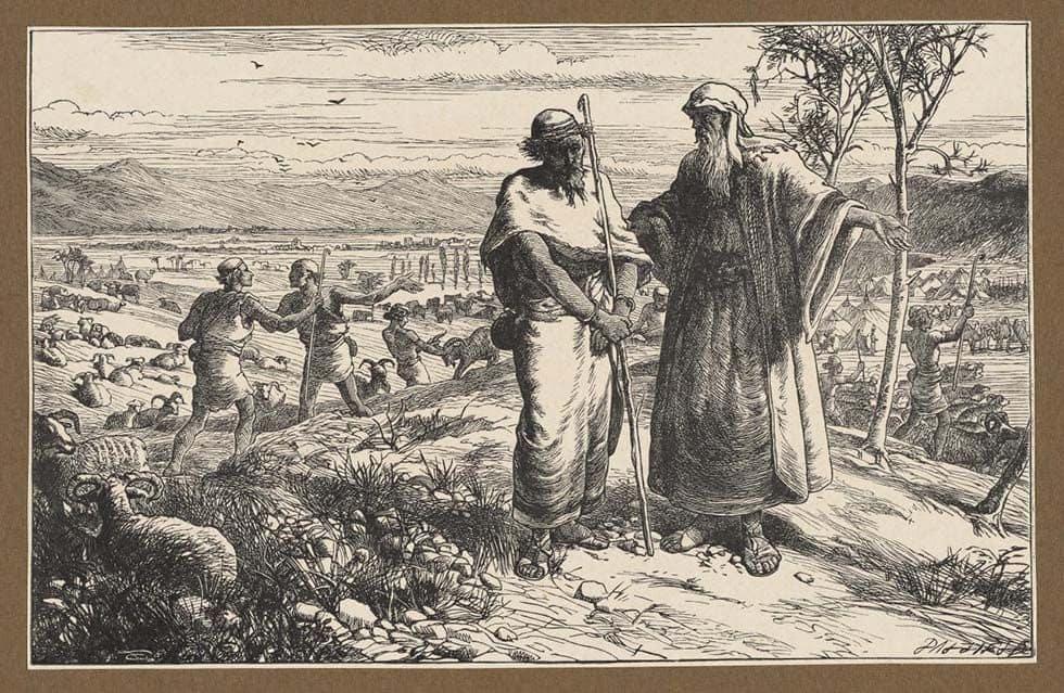 Прощание Авраама с Лотом