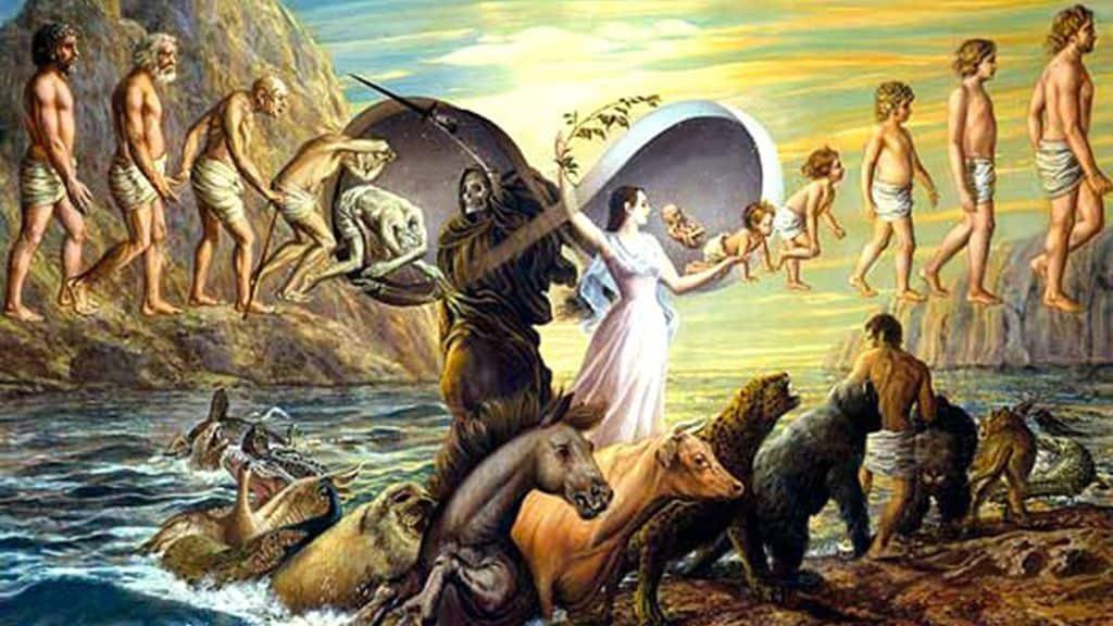 Этапы эволюции души