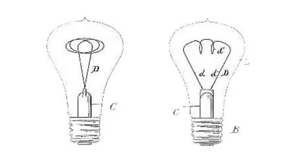 Лампа накаливания Шайе