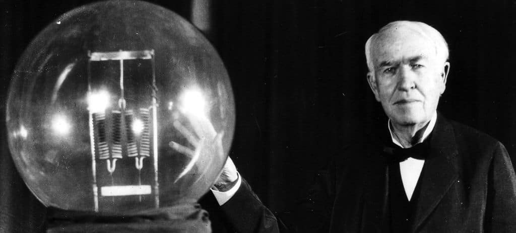 Эдисон и лампа накаливания