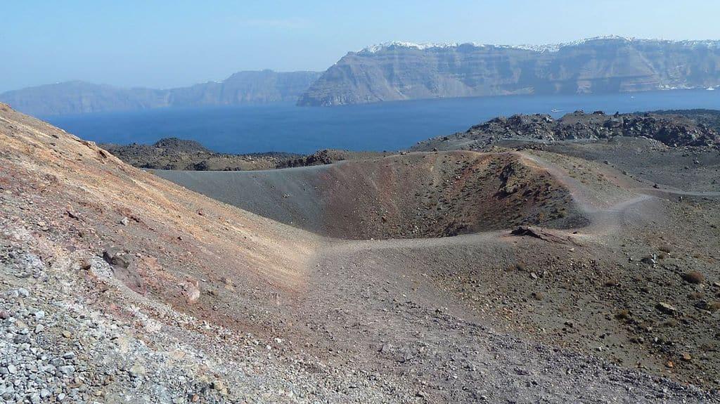 Вулкан Санторин