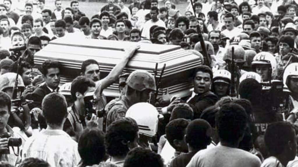 Похороны Пабло Эскобара
