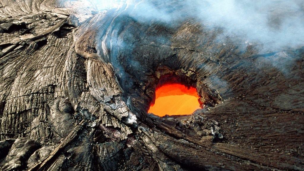 Вулкан Килауэа на Гавайях