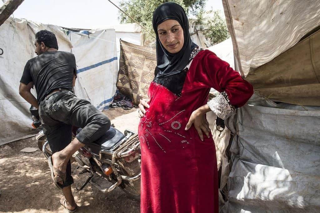 Сирийская женщина