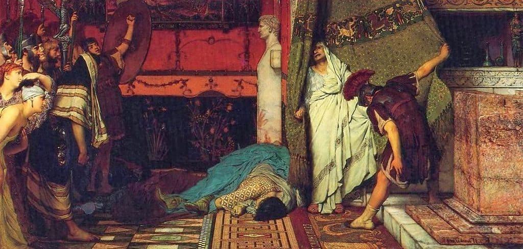 Смерть Калигулы