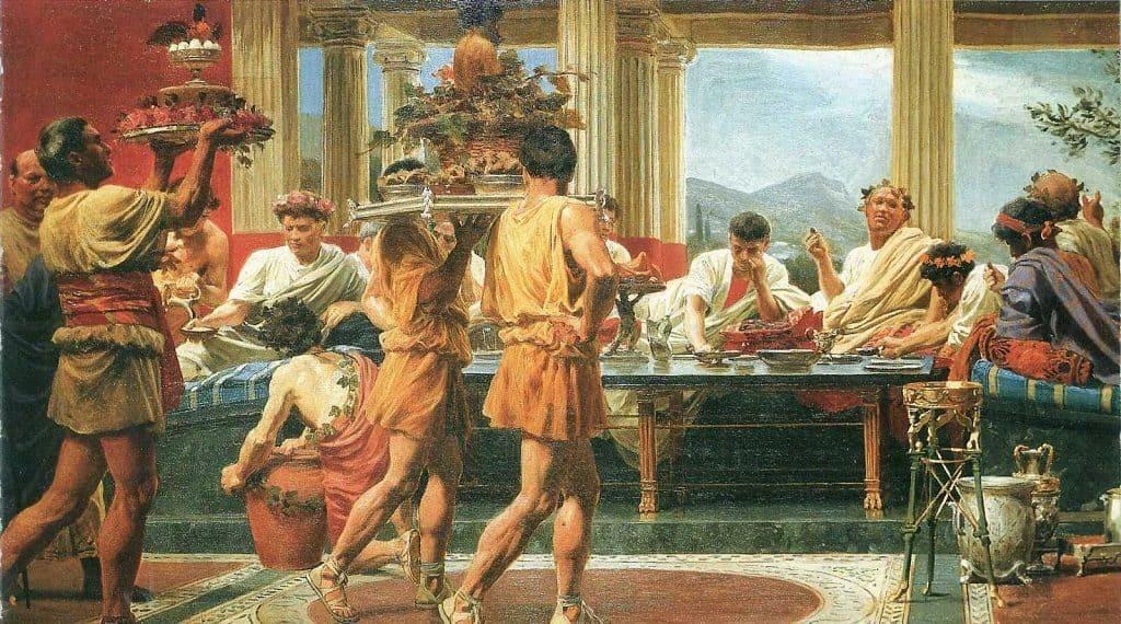Пир богов на Олимпе