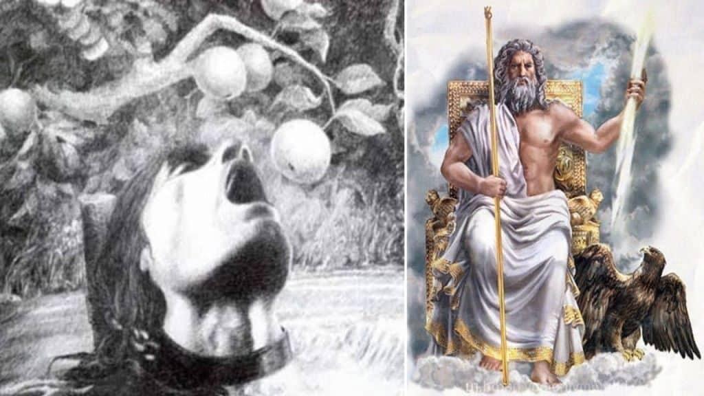 Тантал в царстве Аида