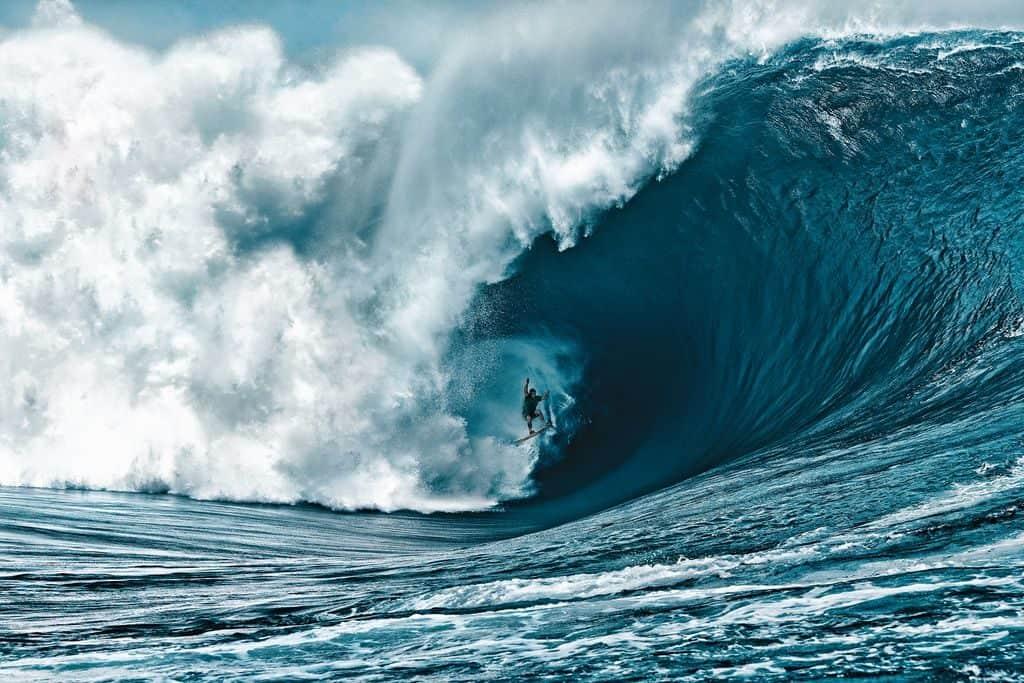 Самая высокая волна в мире