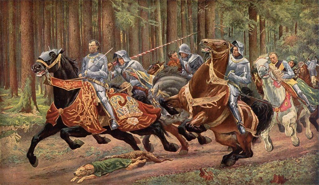 Рыцарская охота