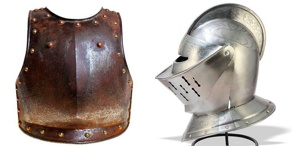 Кираса и шлем