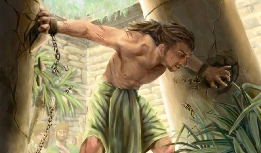 Библейский герой - Самсон