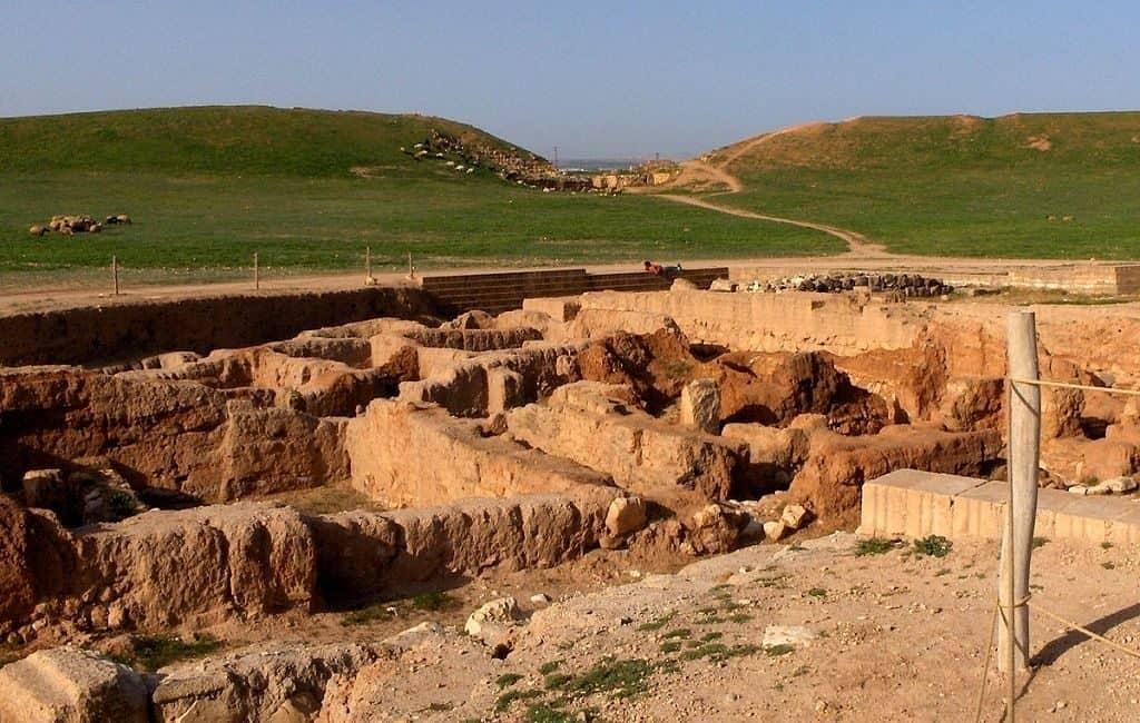Раскопки города Эбла
