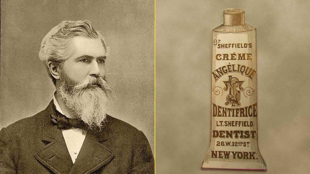 Первый тюбик зубной пасты