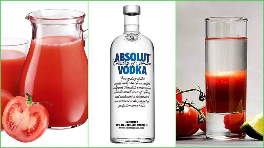 Водка с томатным соком
