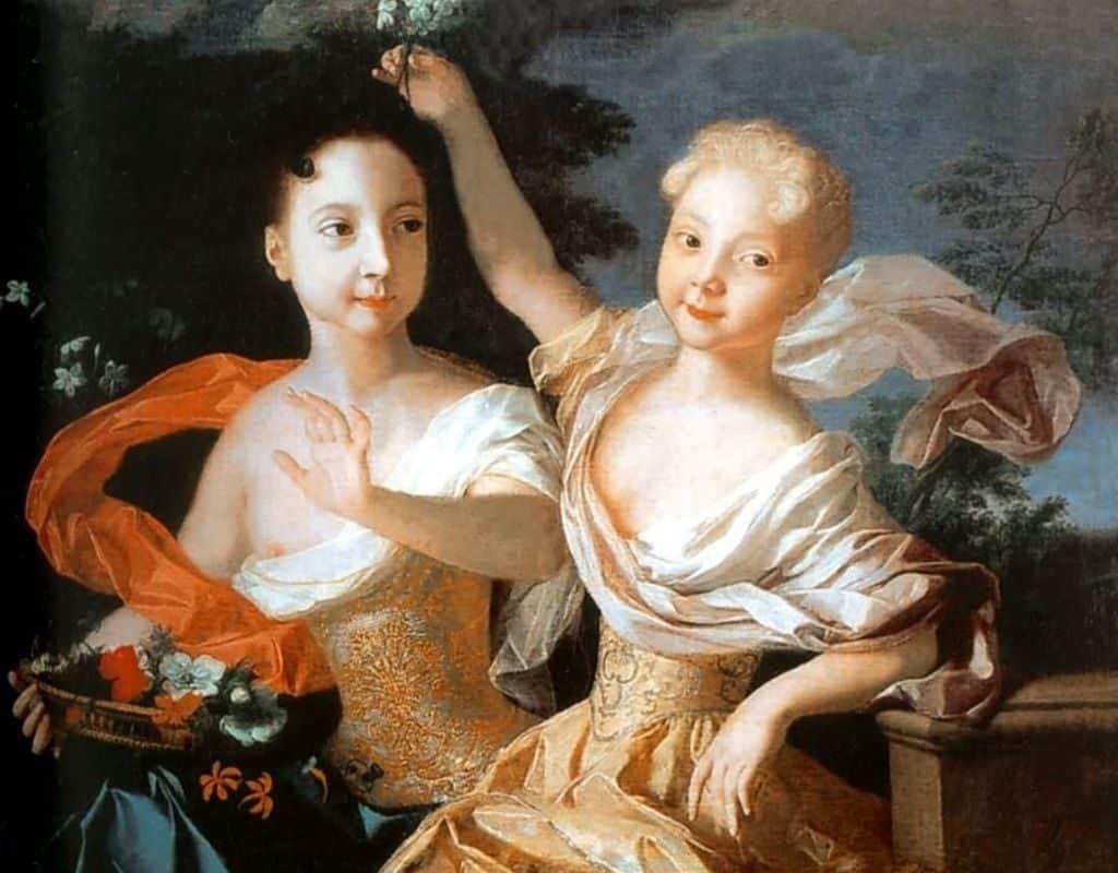 Дочери Петра I - Анна и Елизавета