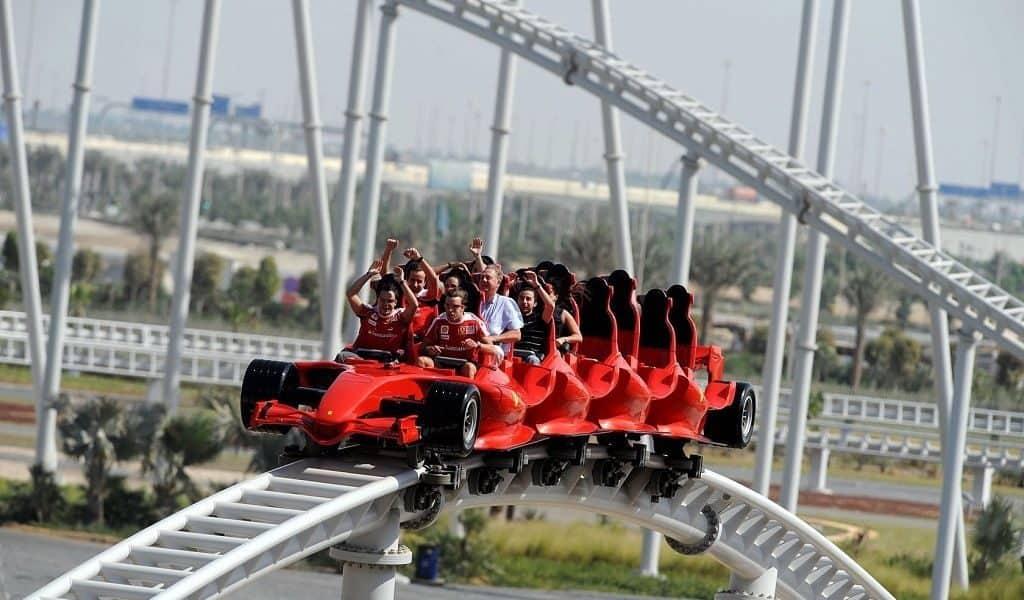 Formula Rossa, парк Ferrari World, Абу-Даби