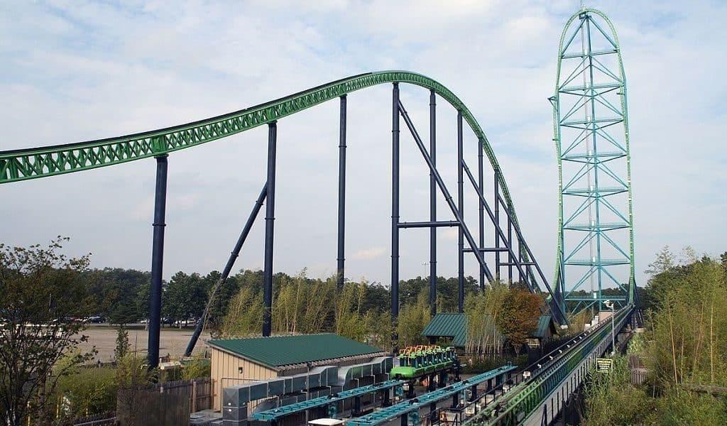 Kingda Ka, парк Six Flags Great Adventure, Нью-Джерси