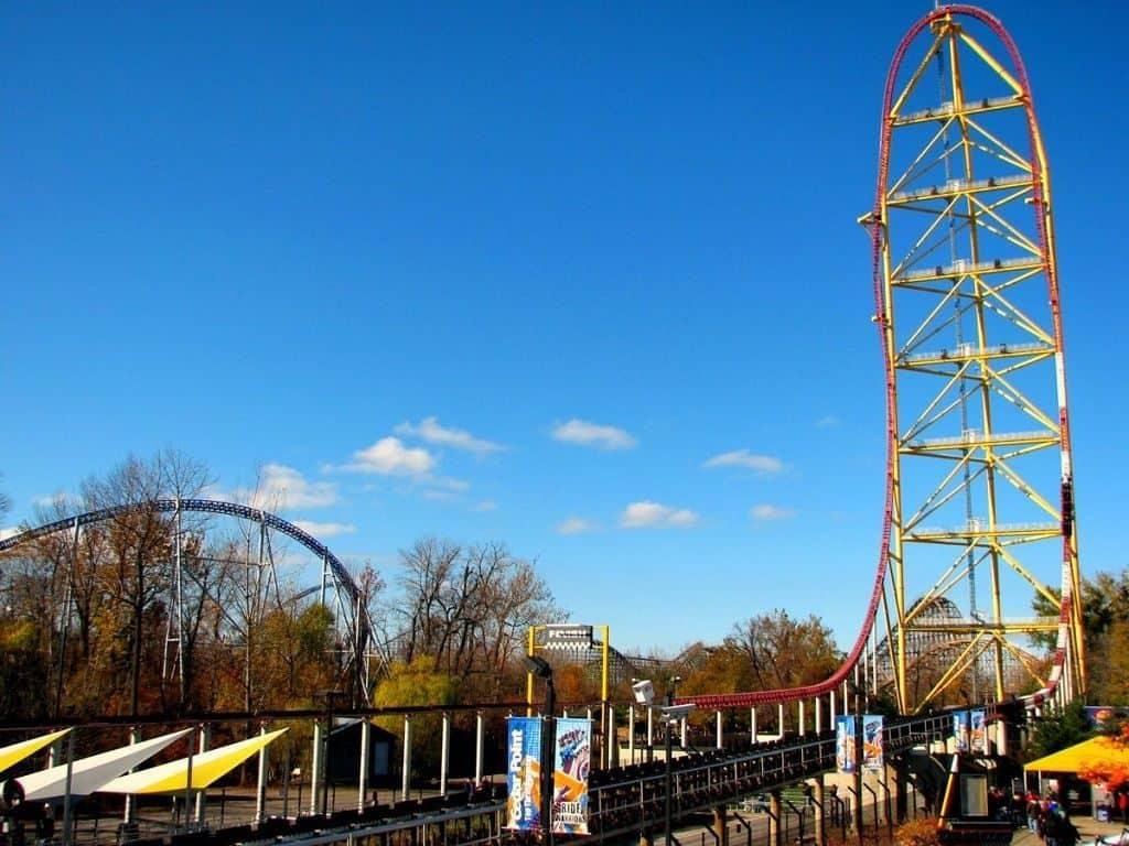 Top Thrill Dragster, парк Cedar Point, Огайо