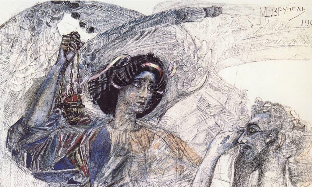 Картина Врубеля