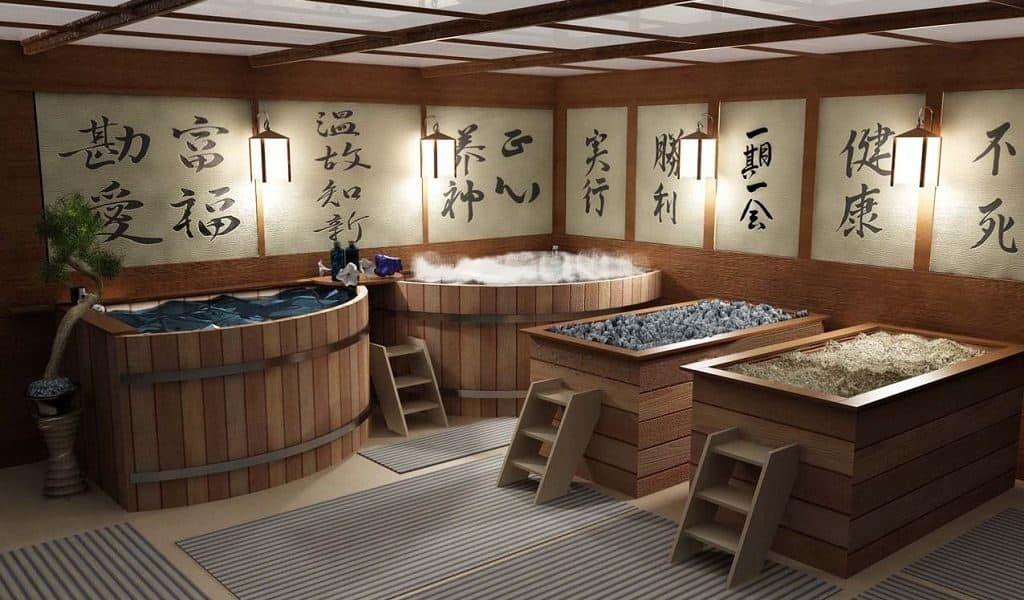 Японская баня