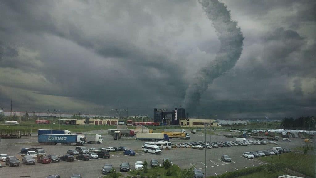Причины образования торнадо