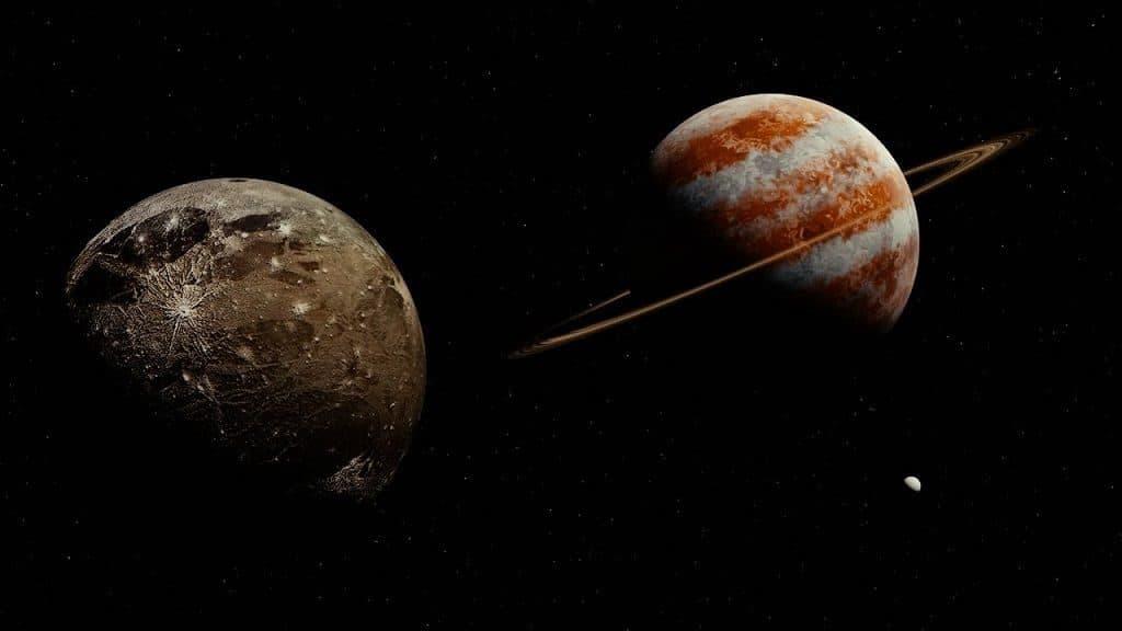 Планета Юпитер спутник Ганимед