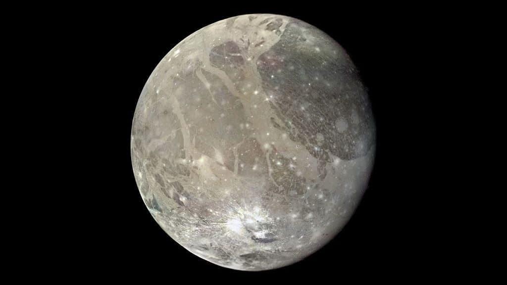 Спутник Юпитера Ганимед