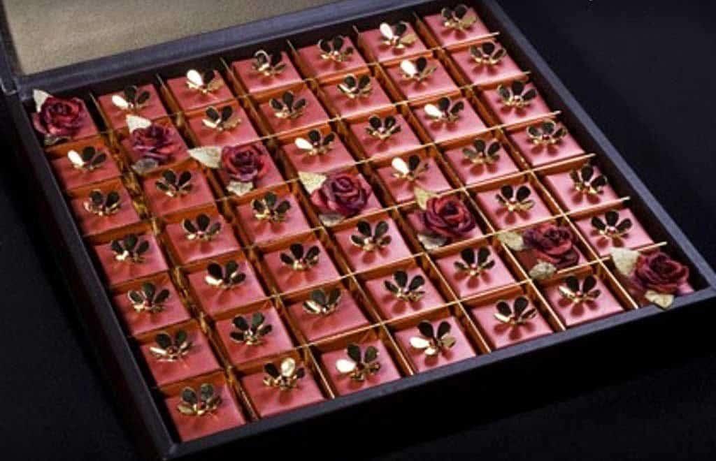 Конфеты с кристаллами Сваровски от Patchi
