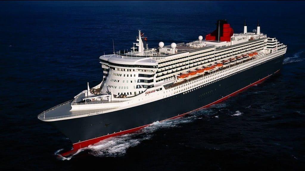 Корабль Queen Mary 2