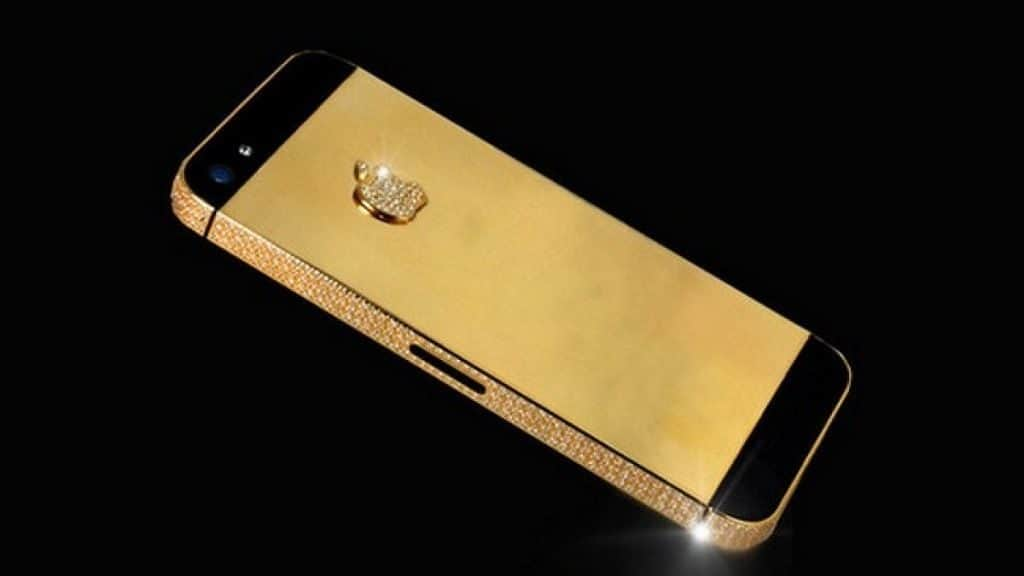 Айфон с бриллиантом