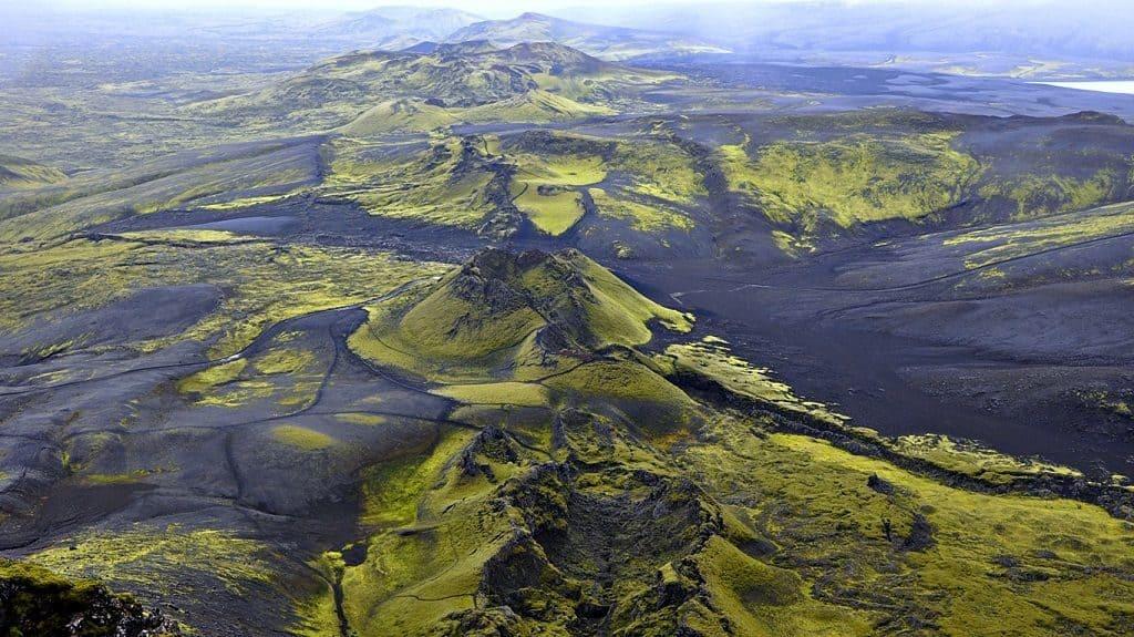 Вулкан Лаки в Исландии