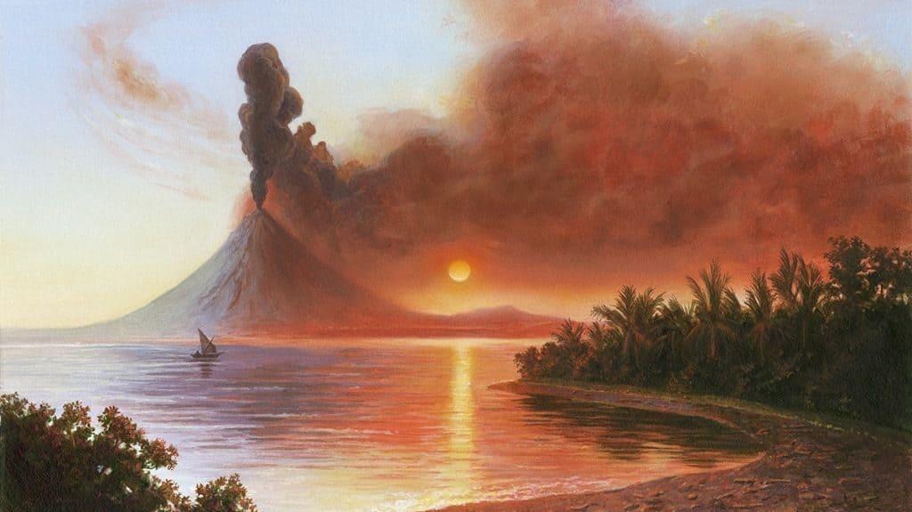 Вулкан Тамбора, остров Сумбава