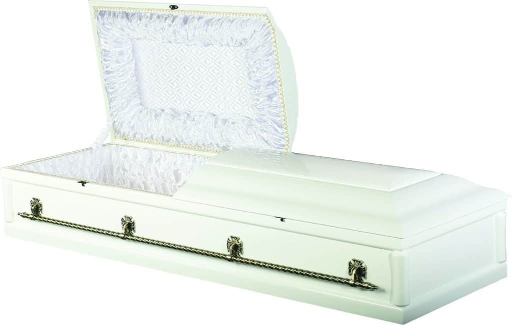 Двухкрышечный гроб