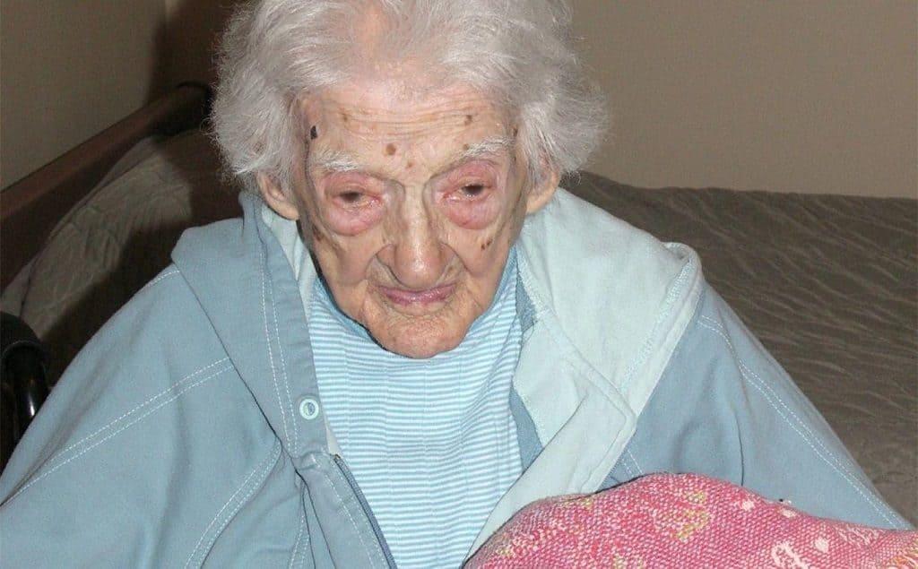 Американская долгожительница Сара Кнаусс