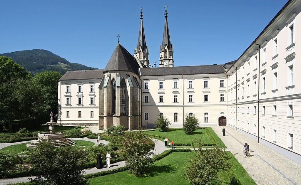 Бенедиктинское аббатство Адмонт