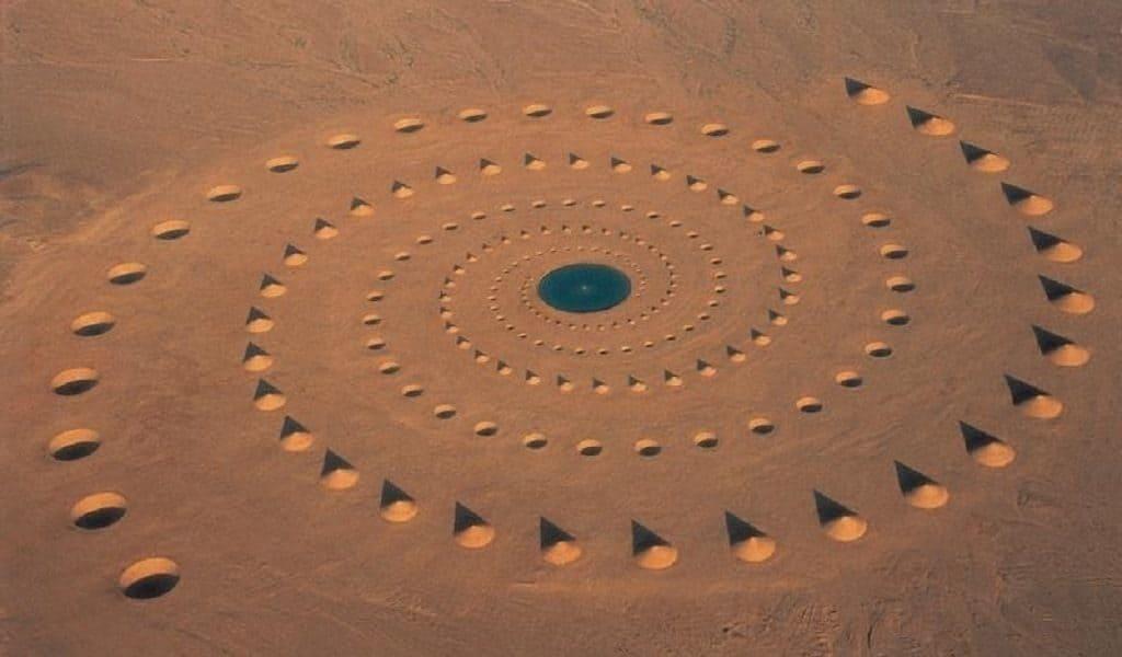 Круги пустыни в Сахаре