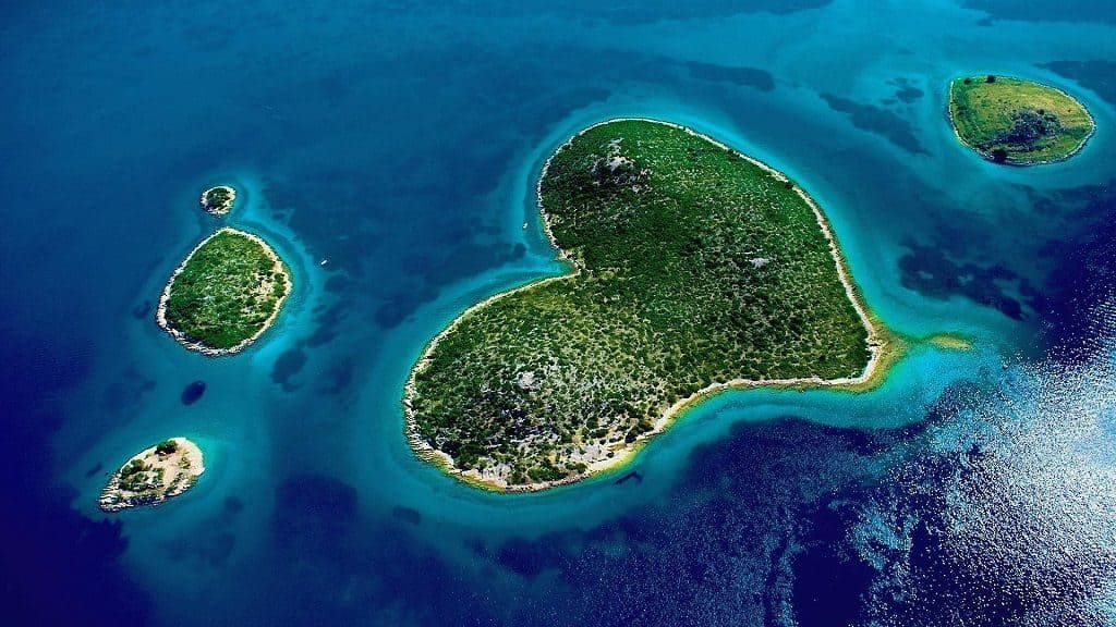 Хорватский остров Галешняк
