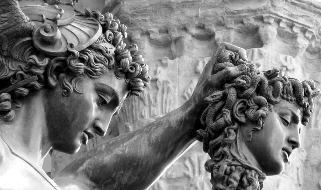 Персей с головой Горгоны
